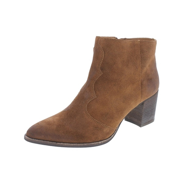 Dolce Vita Womens Lennon Booties Ankle Pointed Toe