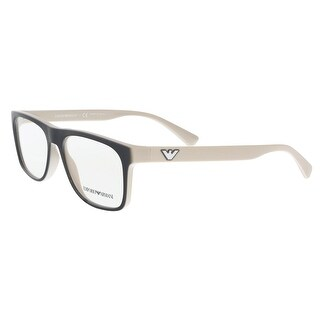 Emporio Armani EA3097 5557 Grey/Beige Square Optical Frames - 55-17-145