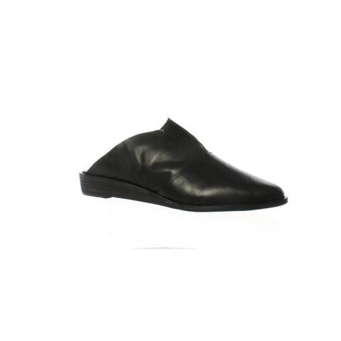 Kelsi Dagger Womens Ashlandvl Black Mules Size 6.5