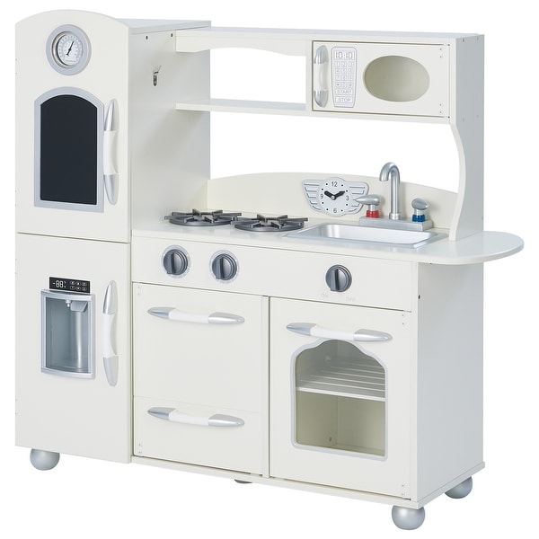 Teamson Kids - Little Chef Westchester Retro Play Kitchen - White. Opens flyout.