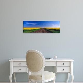 Easy Art Prints Terry Eggers's 'Washingt State Canola Field' Premium Canvas Art