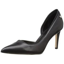 Calvin Klein Womens Byrdie Pointed Toe Dress D'Orsay Heels - 10 medium (b,m)