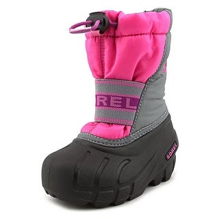 Sorel Cub Youth Round Toe Synthetic Pink Snow Boot
