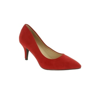 Red Circle Footwear Bambino Low Heel Pointy Pump