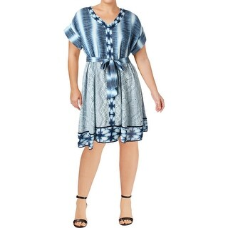 Harper & Liv Womens Party Dress Printed Knee-Length