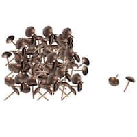 Unique Bargains 100 Pcs Home/Office Steel Board Map Push Pins Thumbtacks w Steel Point