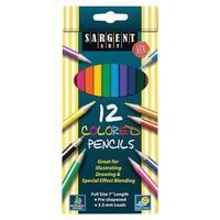 Sargent Art Colored Pencils 12/Set