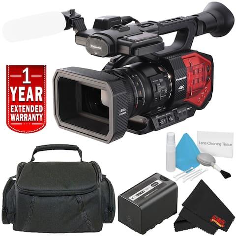Panasonic AG-DVX200 4K Handheld Camcorder - Starter Bundle with 1 Year Extended Warranty