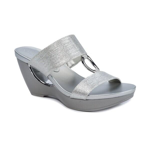 Andrew Geller Aylee Women's Sandals & Flip Flops Silver