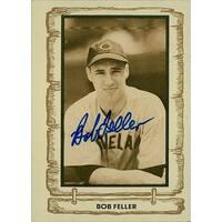 Signed Feller Bob Cleveland Indians 1981 Cramer Sports Baseball Card autographed