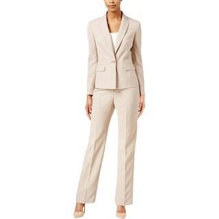 Le Suit Womens Pant Suit 2PC 1 Button