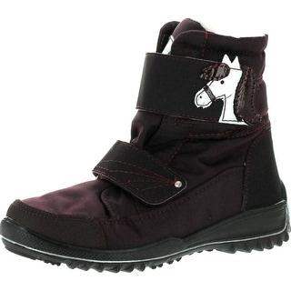 Ricosta Girls Garei Cute Pony Sympatex Waterproof Boots - Burgundy