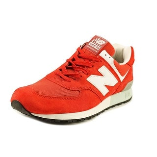New Balance US576 Men Round Toe Suede Sneakers