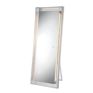 """Eurofase Lighting 33834 65"""" x 25"""" Rectangular Flat Lighted Cheval Mirror with Cu - N/A"""