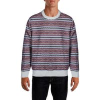 Nautica Mens Crewneck Sweater Cotton Heathered