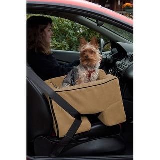 Large Dog Booster Car Seat - Tan