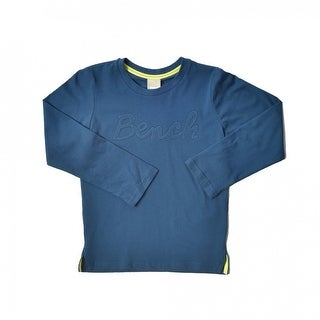 Instance Long Sleeve Graphic Top - Blue