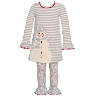 Bonnie Jean Little Girls Gray Stripe Snowman Applique 2 Pc Legging Set|https://ak1.ostkcdn.com/images/products/is/images/direct/853369d7c1a17e5ceeb7b4852a52624537c19424/Bonnie-Jean-Little-Girls-Gray-Stripe-Snowman-Applique-2-Pc-Legging-Set-2T-6X.jpg?impolicy=medium