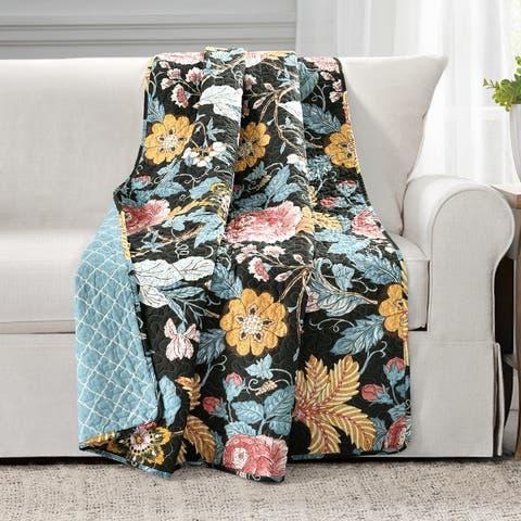 Lush Decor Sydney Throw Blanket