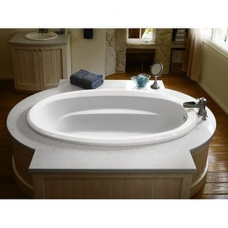 "Signature 72"" Drop In Soaking Bathtub with Universal Drain - Less Drain Assembly"