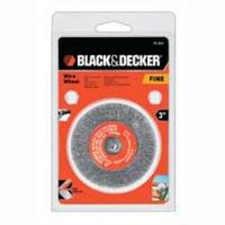 """Black & Decker 70-604 Crimp Wire Wheel Brush, 3"""""""