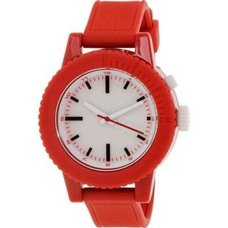 Nixon Women's Gogo A287200 Red Silicone Japanese Quartz Fashion Watch