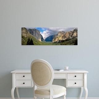 Easy Art Prints Panoramic Images's 'US, California,Yosemite National Park' Premium Canvas Art