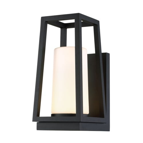 Wac Lighting Ws W38714 Hurricane Single Light 14 High Integrated Led Outdoor Wall Sconce