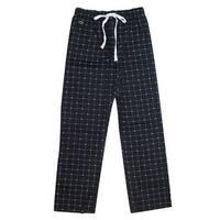 Lacoste Black Croc-Print Lounge Pants