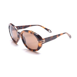Givenchy Women's Oval Frame Sunglasses Tortoise - Small