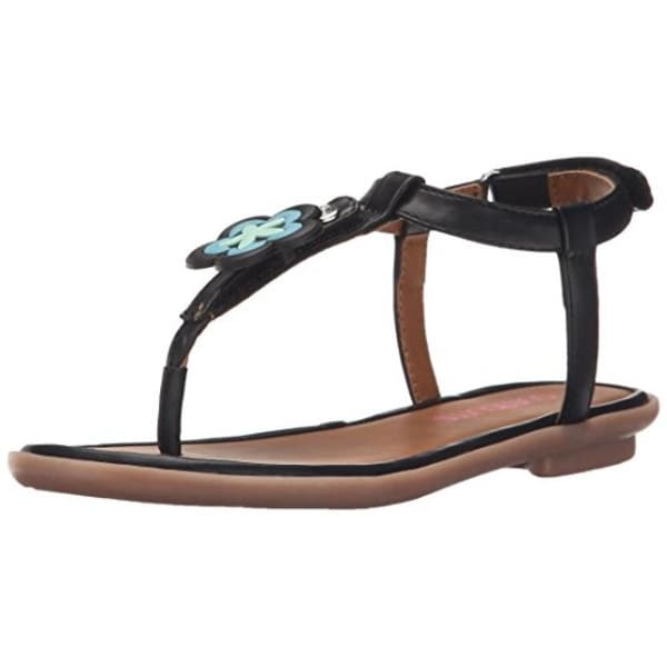 ace64d6d5 Bumbums  amp  Baubles Girls Belle Thong Sandals Faux Leather - 3 medium ...
