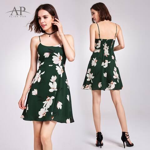 Ever-Pretty Women's Short Floral Print Cocktail Party Dresses 05913