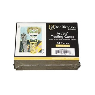 Jack Richeson Artist's Trading Cards, 2-1/2 x 3-1/2 in, Pack of 54