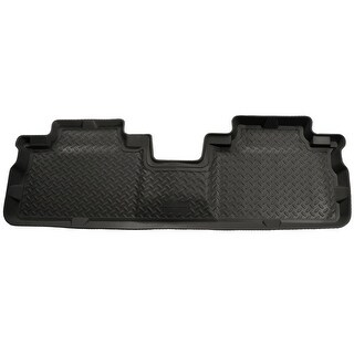 Husky Classic 2001-2006, 2008 Mazda Tribute 2nd Row Black Rear Floor Mats/Liners