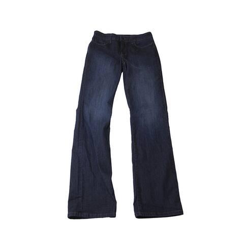 Nydj Burbank Wash Straight-Leg Jeans