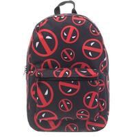 Marvel Deadpool Logo Print Backpack