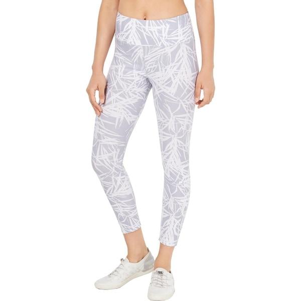 Calvin Klein Performance Womens Athletic Leggings Fitness Running - Black/White - S. Opens flyout.