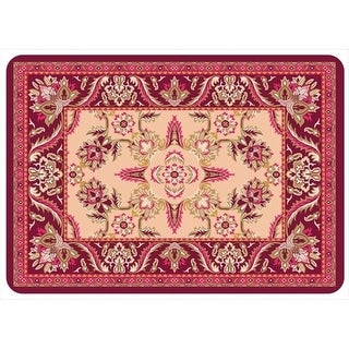 20400832231 Siam Mat in Red - 1.83 ft. x 2.58 ft.