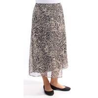RACHEL ROY Womens Black Faux Wrap Animal Print Pants  Size: 8