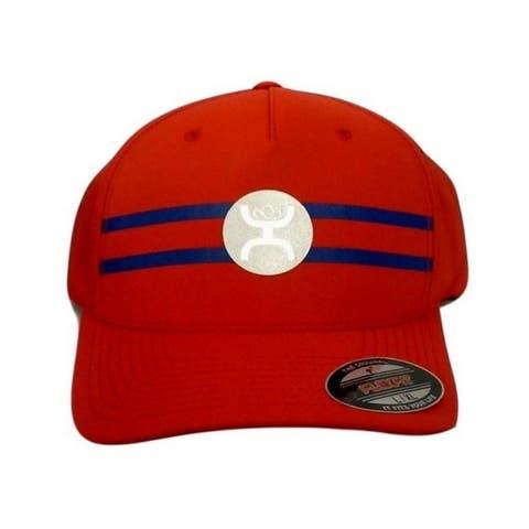HOOey Hat Mens Baseball Flexfit Cap Perf Reflective Logo