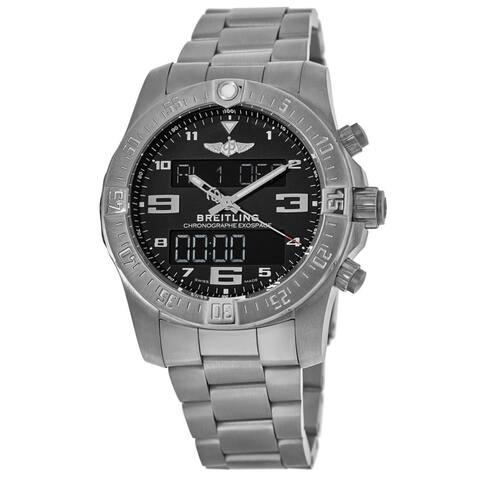 Breitling Men's EB5510H1-BE79-181E 'Exospace' Titanium Watch - Black