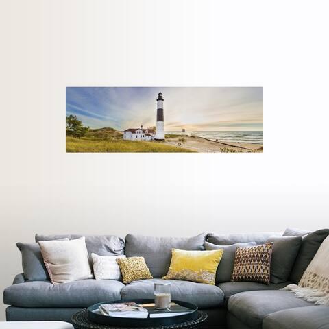 """Big Sable Point Lighthouse, Lake Michigan"" Poster Print"