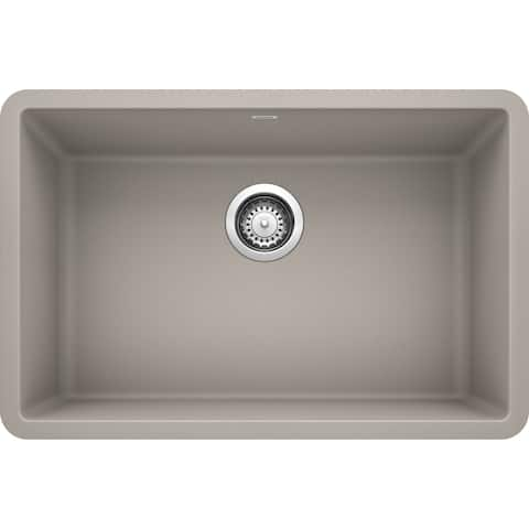 "Blanco Precis 27X18 Undermount Single Kitchen Sink - 17.75"" x 26.81"" x 8.75"""