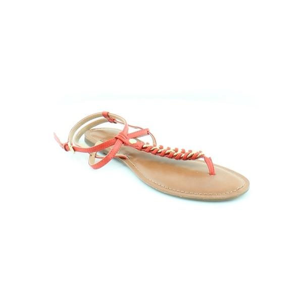 Tommy Hilfiger Lynne Women's Sandals & Flip Flops Red - 9.5
