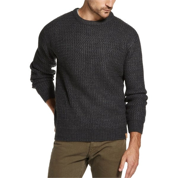 Weatherproof Mens Textured Pullover Sweater. Opens flyout.