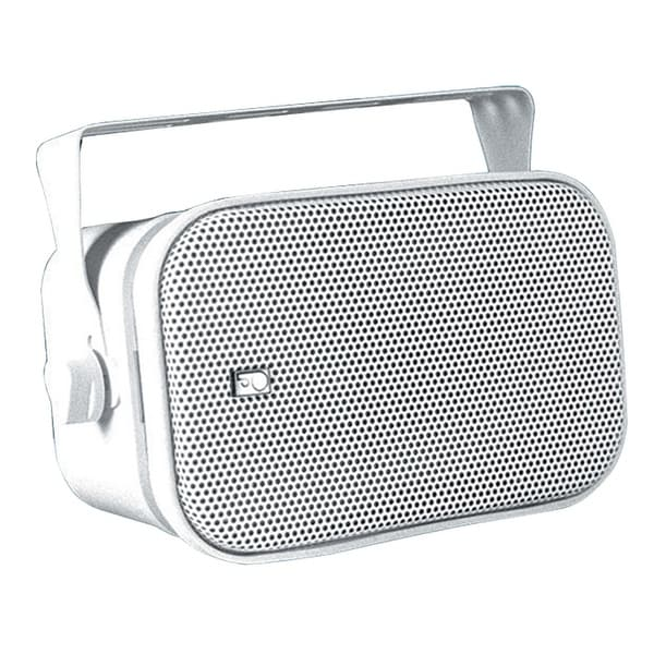 Poly-Planar MA800W Compact Box Speaker - (Pair) White