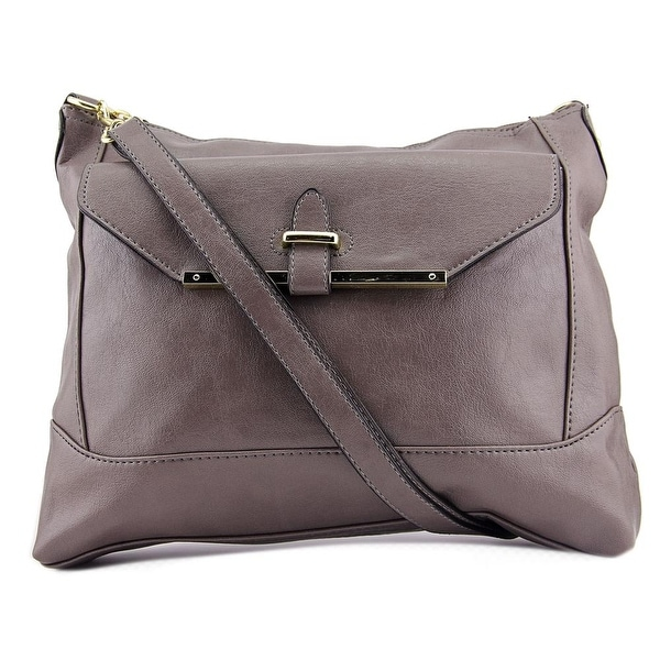 Mondani New York Vicky Top Zip Hobo Women Leather Hobo - gray