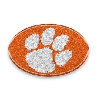 Clemson Tigers Auto Emblem Oval Color Bling