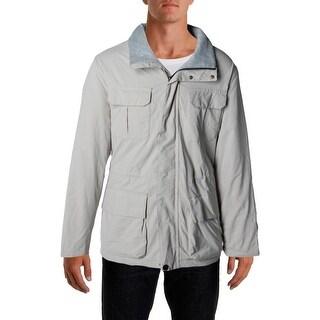 Nautica Mens Parka Fleece Lined Water Resistant