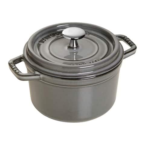 Staub Cast Iron 0.75-qt Round Cocotte